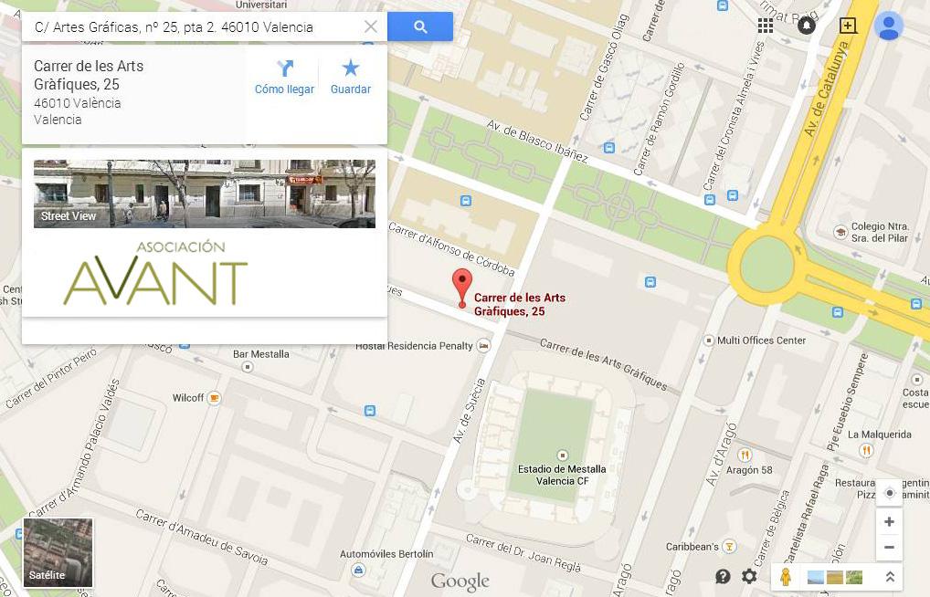 mapa del sitio de contaco